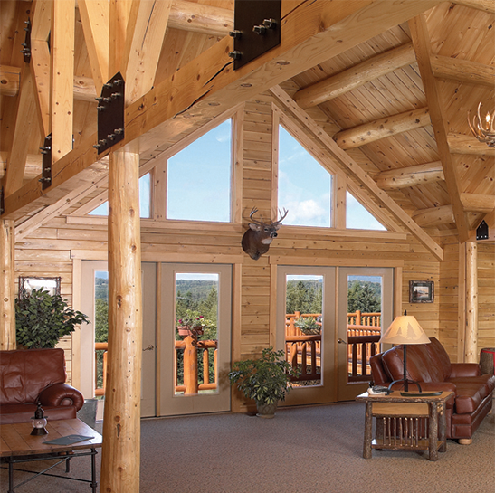 Log homes vermont maine massachusetts connecticut new york for Log cabin kits knoxville tn