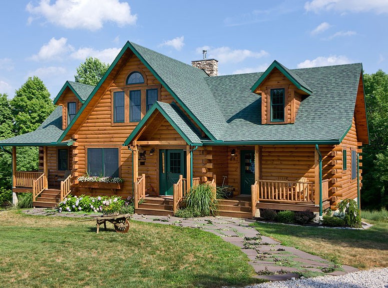 Contractors service referrals nh log cabin homes for Maine home building packages