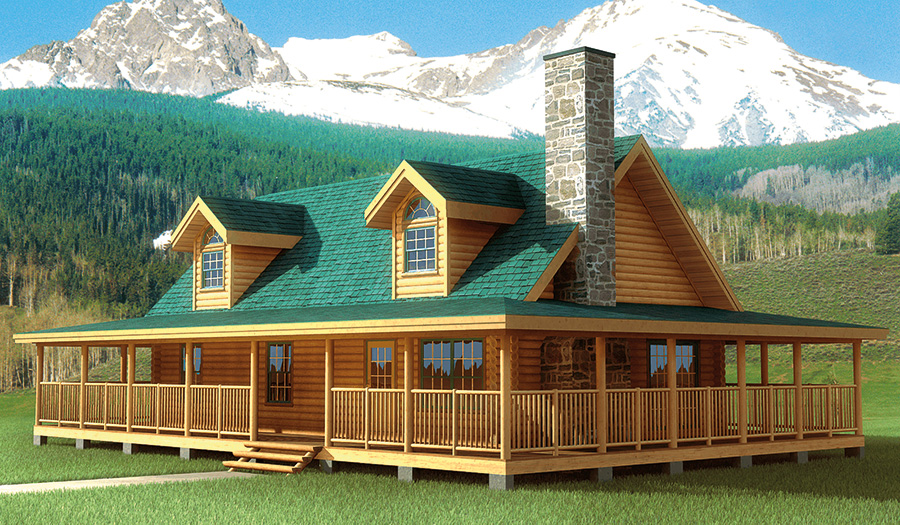 Log Home and Log Cabin Floorplans from NH Log Cabin Homes