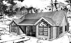 Brassua log home from nh log cabin homes