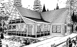 Clearwater log home from nh log cabin homes