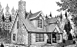 Dreamer log home from nh log cabin homes