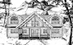 Edmeston log home from nh log cabin homes