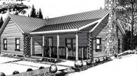 Greenwood log home from nh log cabin homes