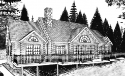 Moosehead log home from nh log cabin homes