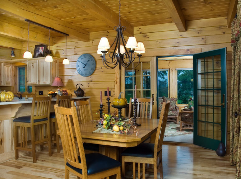 Log Homes and Log Cabin Gallery from NH Log Cabin Homes