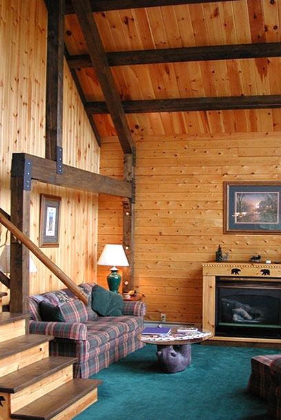 NH Log Cabin Homes