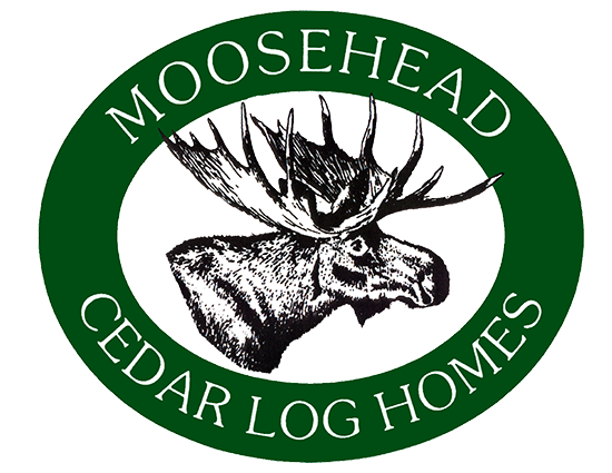 moose head log homes logo